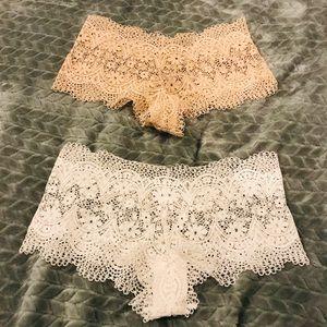 Victoria's Secret // Set of 2 NWOT Lace Panties